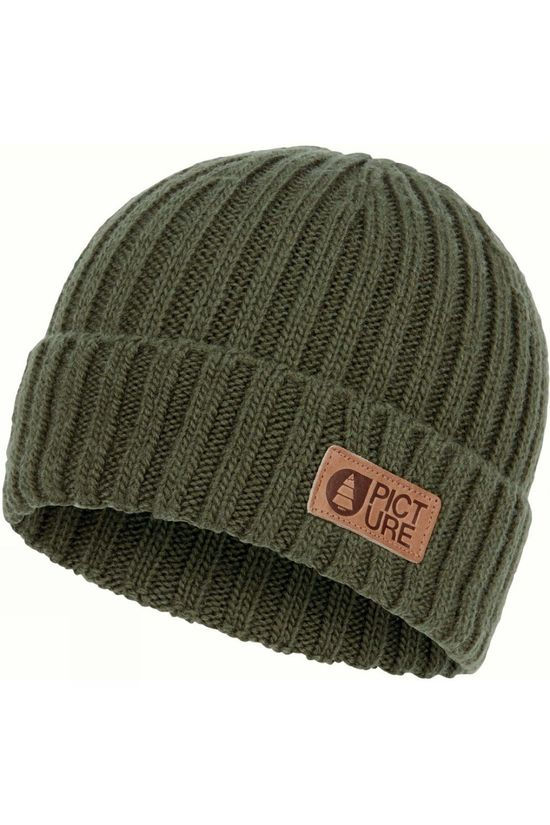 Picture Mens Ship Beanie Army Green