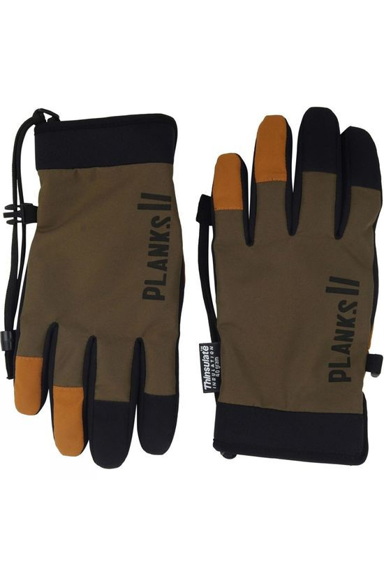 Planks High Times Park Glove Army Green