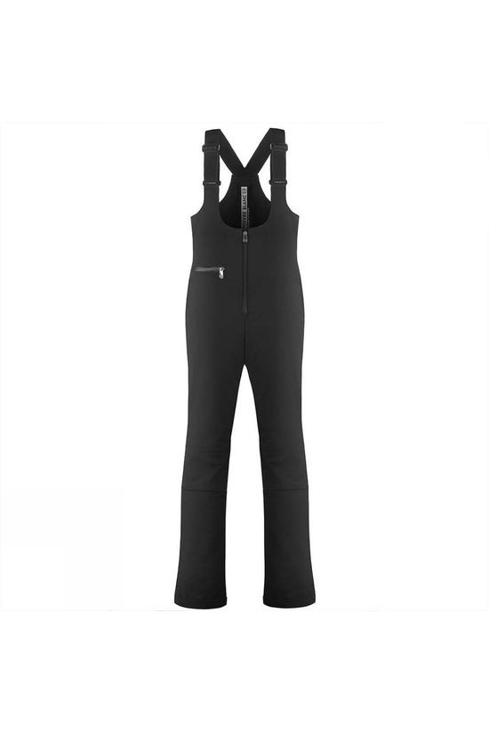 Poivre Blanc Womens Lisa Stretch Ski Bib Pants Black