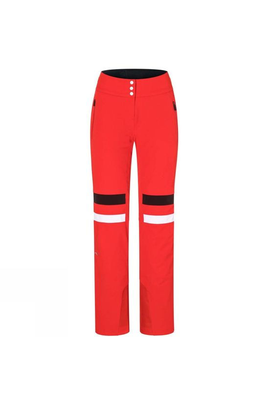 KJUS Womens Madrisa Pants Fiery Red/Black