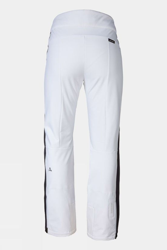 Schoffel Women's Planai Softshell Pant Bright White