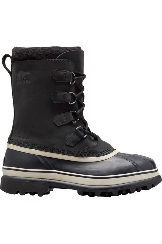 Sorel Men's Caribou Snow Boot Black/Dark Stone