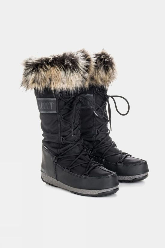 Moon Boots Women's Monaco WP 2 Boot Black