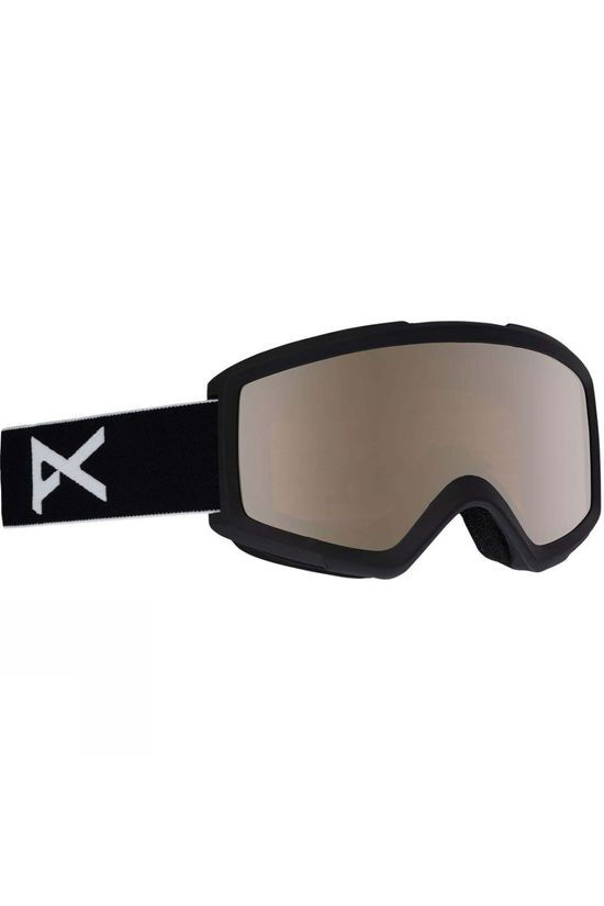 Anon Men's Helix 2.0 Goggle Black / Silver Amber & Amber