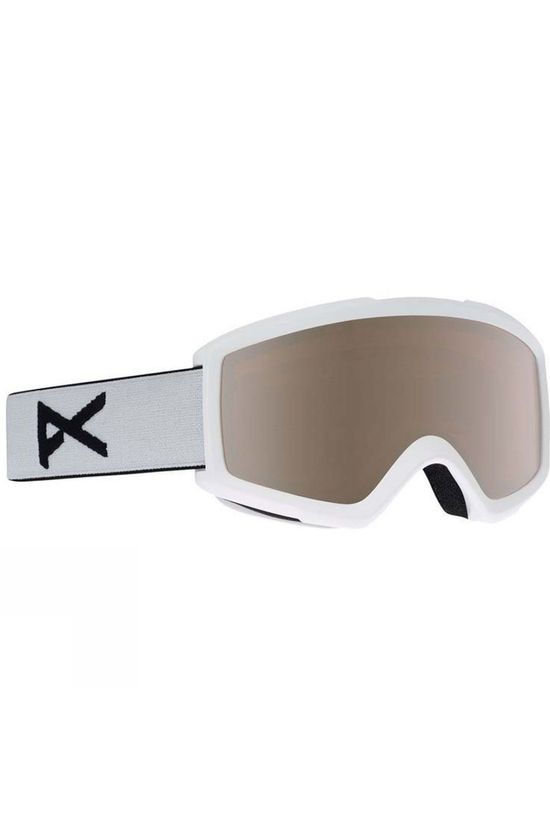 Anon Men's Helix 2.0 Goggle White/Silver Amber + Amber