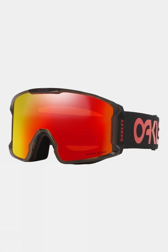 Oakley Line Miner Snow Goggles Scotty James Sig Crystal Black / Prizm Snow Torch