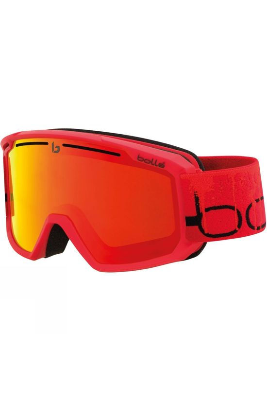 Bolle Maddox Goggle Matte Red Line / Sunrise