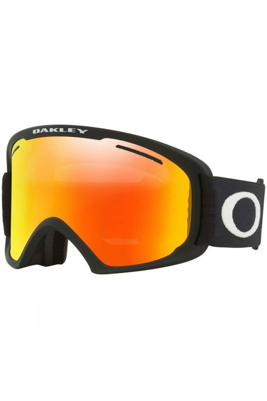 Oakley Mens O Frame 2.0 Pro XL Goggle Matte Black / Fire IRIDIUM & Persimmon