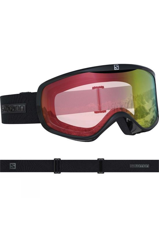 Salomon Womens Sense Goggles PHOTO BLACK/ALL WEATHER