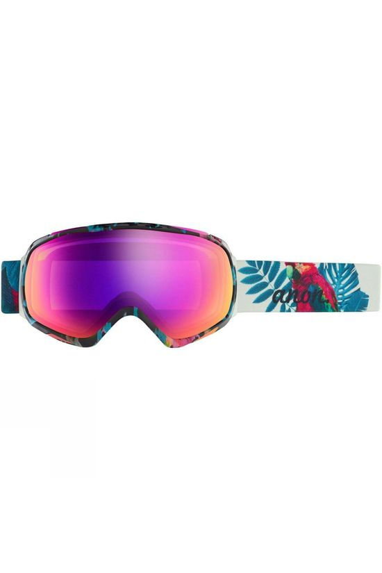 Anon Womens Tempest MFI Goggle Parrot / Sonar Pink