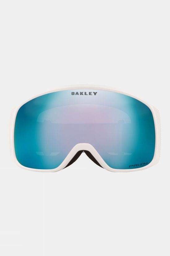 Oakley Women's Flight Tracker XM Goggle Matte White / Prizm Snow Sapphire