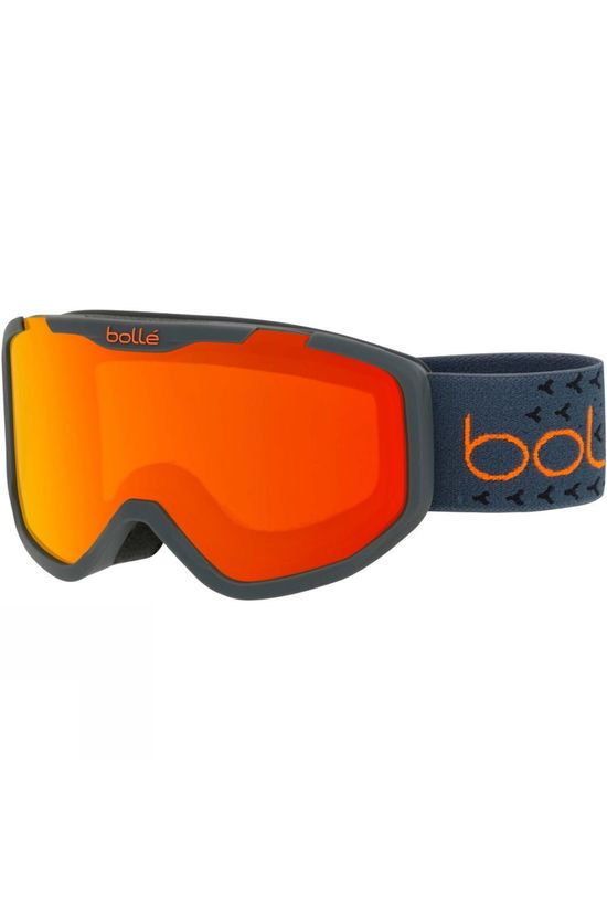 Bolle Kids Rocket Plus Goggle Matt Grey Orange/ Sunrise