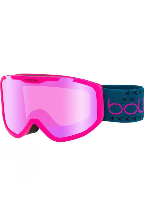Bolle Kids Rocket Plus Goggle Matt Pink Blue/ Rose Gold