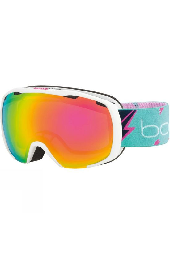 Bolle Kids Royal Goggle Matte White Flash / Rose Gold