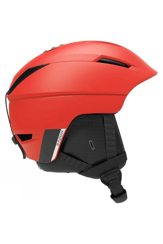 Salomon Mens Pioneer X Helmet Red / Beluga