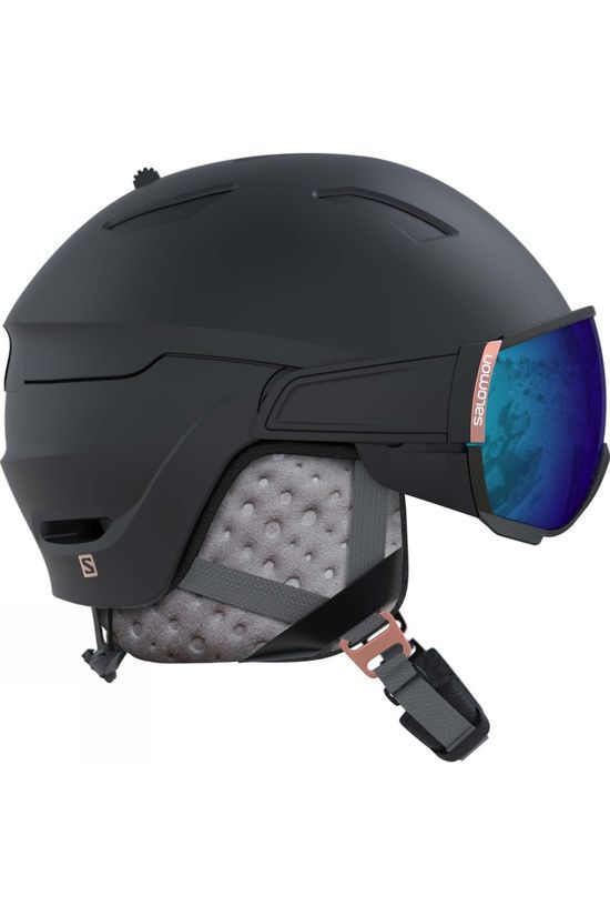 Salomon Womens Mirage Helmet Black/ Rose Gold