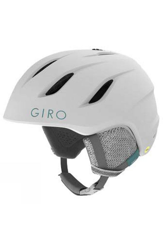 Giro Kids Nine Jr Ski Helmet Matte White