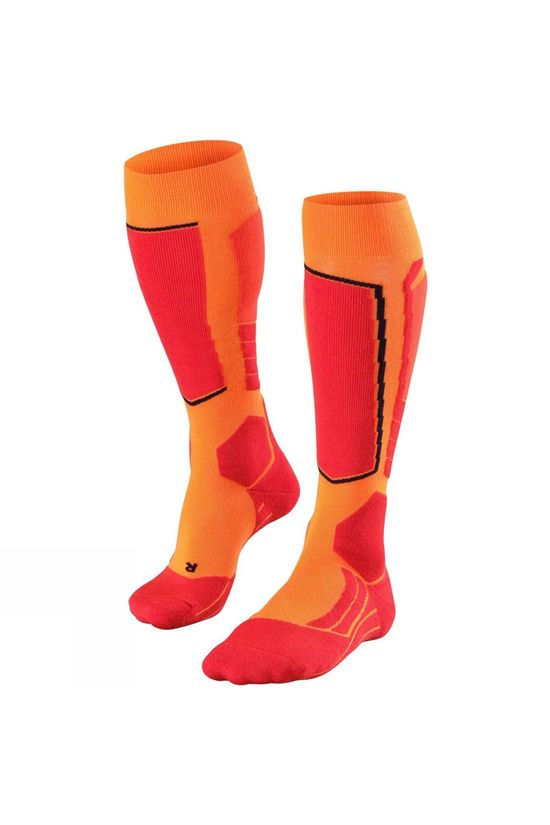 Falke Men's SK 2 Ski Sock Flash Orange