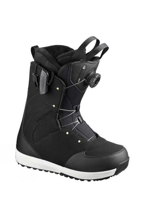 Salomon Womens Ivy Boa STR8JKT Boot Black
