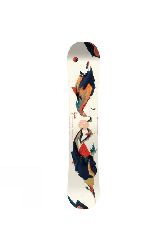 Capita Womens Space Metal Fantasy Snowboard Ivory/No colour / Transparant (DNU)