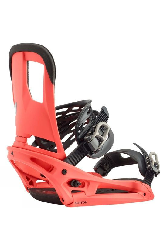 Burton Mens Cartel EST Snowboard Binding Red