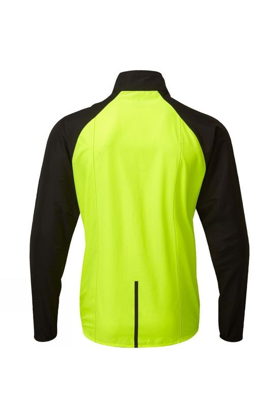 Ronhill Men's Tech Windspeed Jacket Fluo Yellow/Black