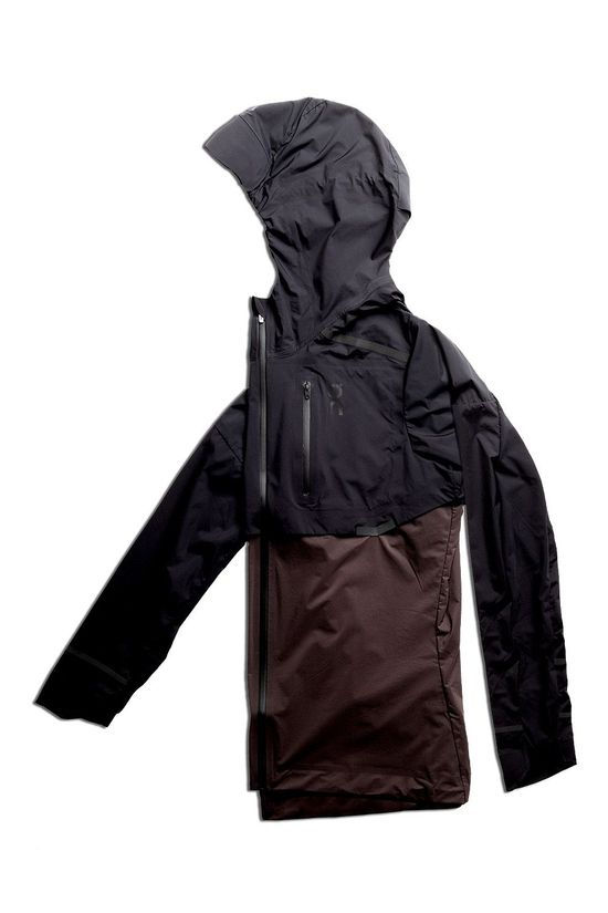 On Womens Weather Jacket Black/Pebble