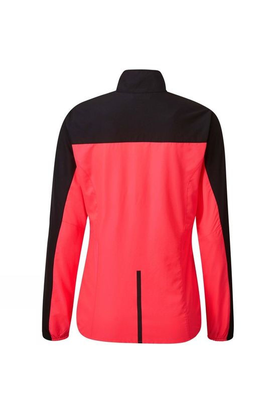 Ronhill Womens Tech Windspeed Jacket Hot Pink/Black