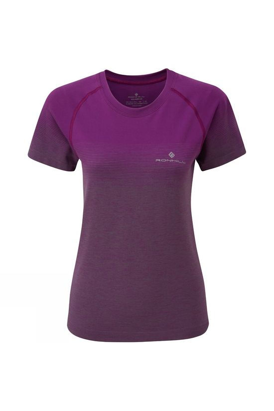 Ronhill Women's Infinity Marathon Short Sleeve Tee Grape Juice