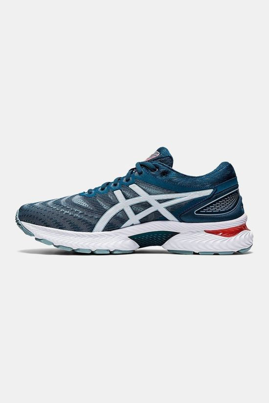Asics Men's GEL-Nimbus 22 LIGHT STEEL/MAGNETIC BLUE