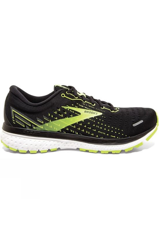 Brooks Men's Ghost 13 Black/Nightlife/White