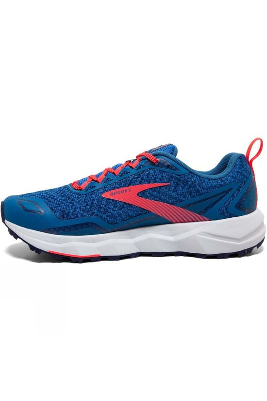 Brooks Women's Divide Blue Sapphire/Blue/Coral