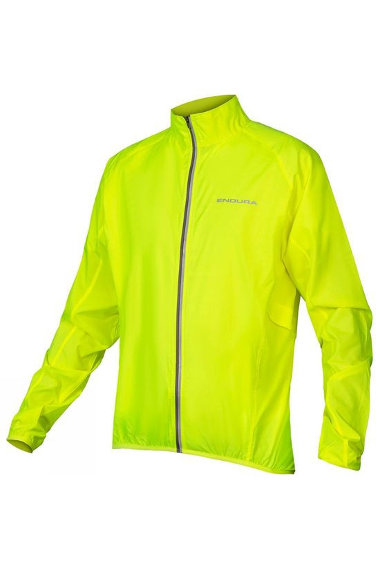 Endura Mens Pakajak Jacket Hi Viz Yellow