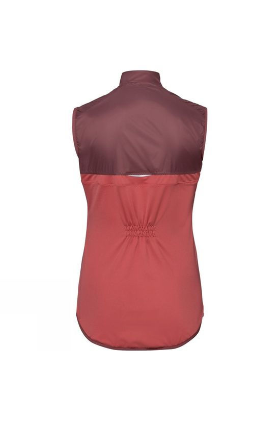 Odlo Womens Fujin Light Vest Roan Rouge - Faded Rose