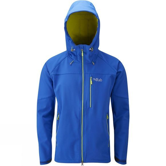 Rab Mens Salvo Jacket  Dark Captain/ Zest