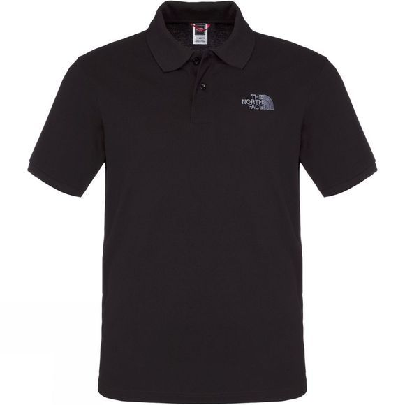 The North Face Mens Polo Piquet TNF Black