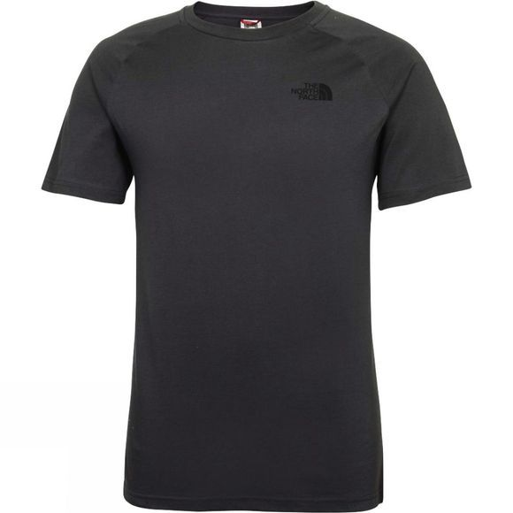 The North Face Men's Short Sleeve North Faces Tee Asphalt Grey