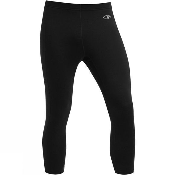 Icebreaker Mens Atom Legless Bottoms Black