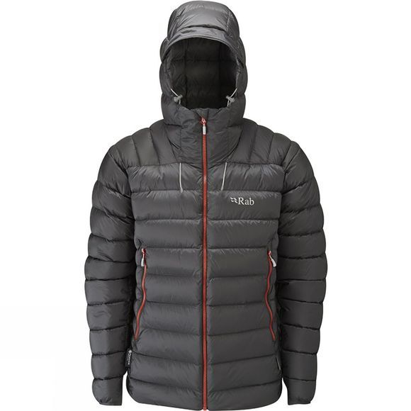 Rab Men's Electron Jacket Graphene/Zinc