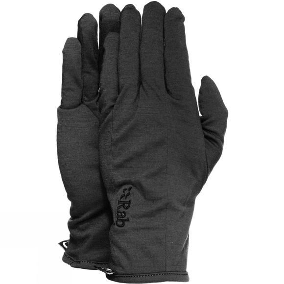 Rab Merino+ 160 Glove Black