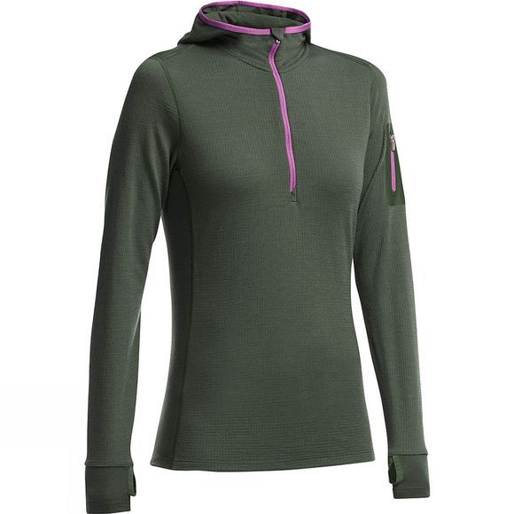 Women's Terra Long Sleeve Half Zip Hood