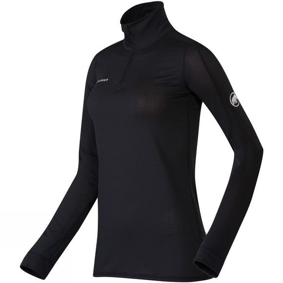 Womens Go Dry Zip Long Sleeve