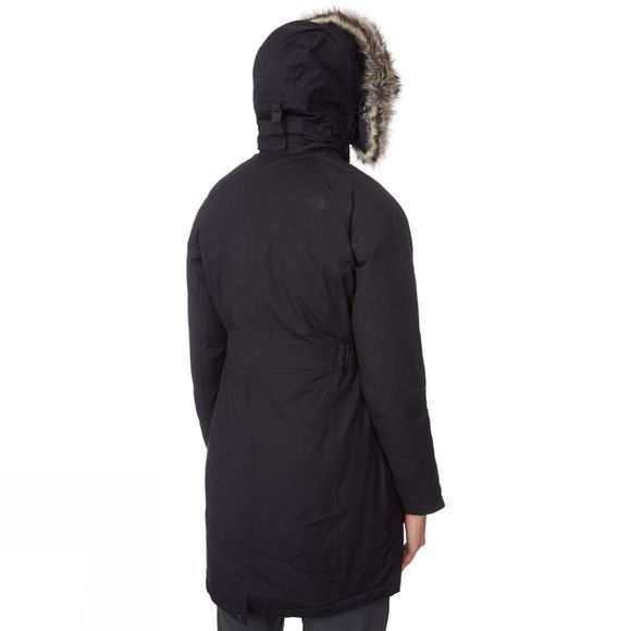 Women's Arctic Down Lined Faux Fur Parka