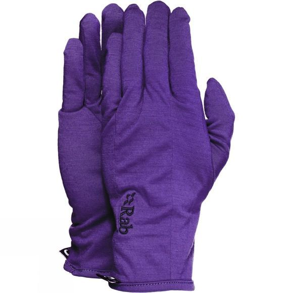 Rab Women's Merino 160 Gloves Amethyst