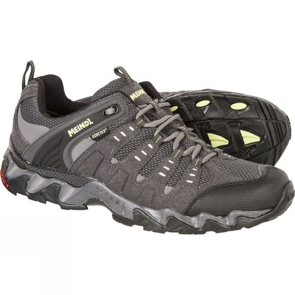 Meindl Mens Respond GTX Shoe Anthracite/Lemon
