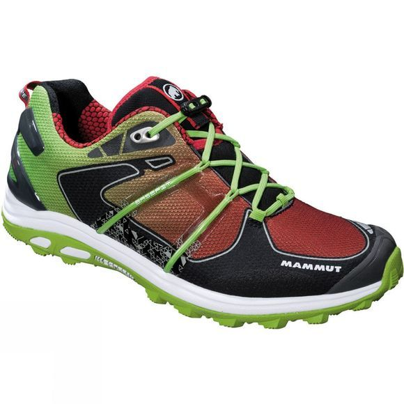 Mammut Mens MTR 201 Pro Low Shoe Spring/Inferno