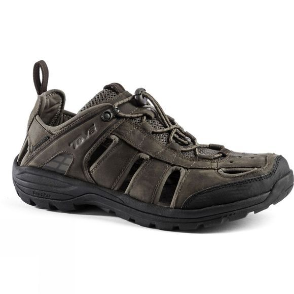 Teva Men's Kimtah Sandal Leather Turkish Coffee
