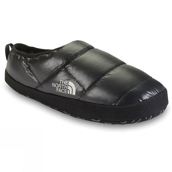 The North Face Men's Never Stop Exploring Tent Mule III Slipper Shiny Black