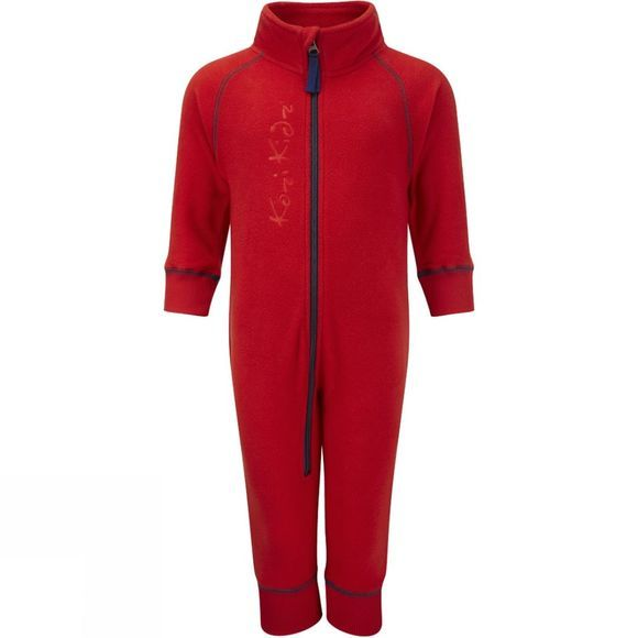 Kozi Kidz Microfleece All In One Red