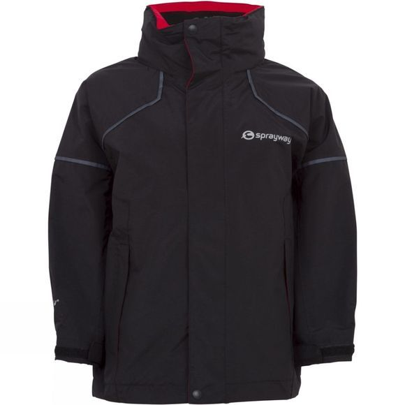 Sprayway Kid's Sandpiper IA Jacket Black/ Blaze